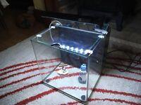 Fish tank Inc Impeller, filters, heater & LED lamp