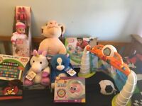 Bundle of kids toys etc - most new