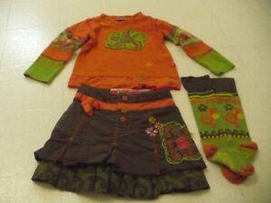 vêtement 2-3-4ans; chandail,robe,jupe,pant.,habit neige