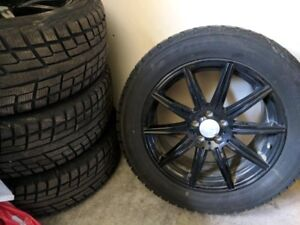 Winter tires and rims for Mercedes GL, 255 55R19