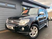 2008 Mitsubishi Shogun 3.2DI-DC LWB auto Warrior *Black - Heated Leather - Nav*