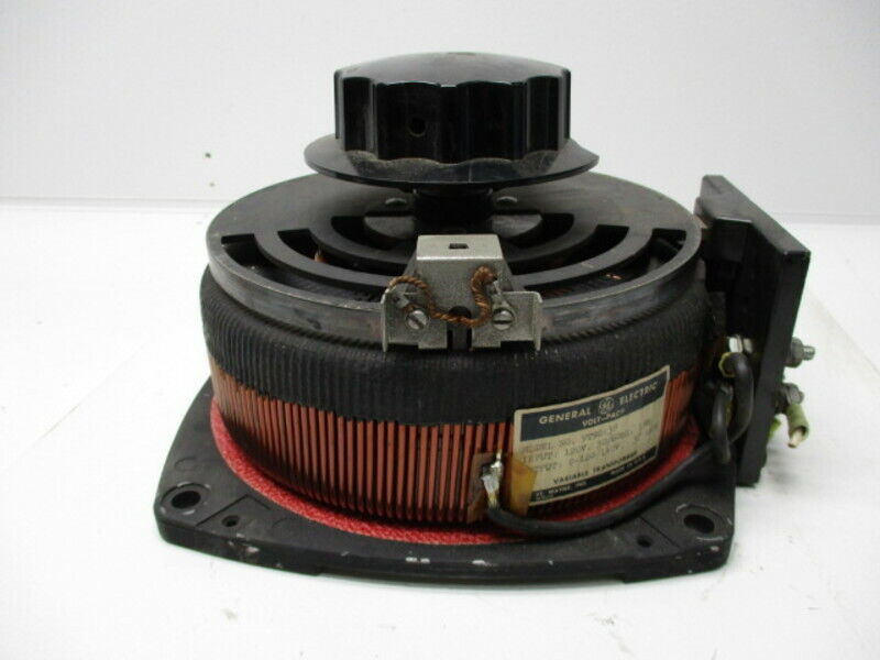 GENERAL ELECTRIC 9T29A38 VARIABLE TRANSFORMER * USED *