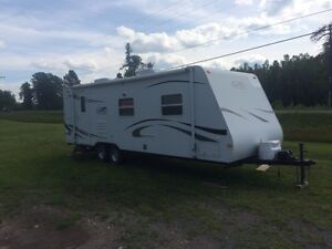 2007 Trail Sport SS-25S camper with slide