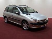2004 Peugeot 206 SW 1.4 HDi S 5dr (a/c)
