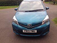 2013 13 Toyota Yaris 1.3 5dr Manual Petrol