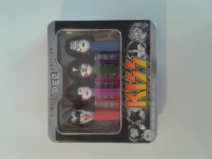 2012 limited edition KISS pez dispensers mint.