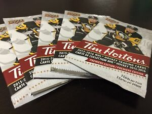 2015-16 Upper Deck Tim Hortons Hockey Cards = WOODBRIDGE