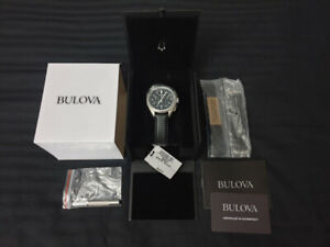 NEW Bulova 96B251 Men's Special Edition Lunar Pilot - Moon Watch