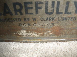 1943 Wartime Water Container - Never Opened London Ontario image 2