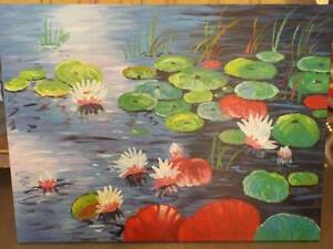 ART SALE ! 1/2 PRICE - BEAUTIFUL painted - 120cm x 90cm ($99-$69) Willetton Canning Area Preview