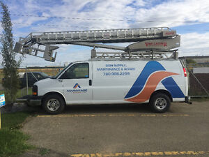 2011 Chevrolet c/w Van Ladder Bucket Truck