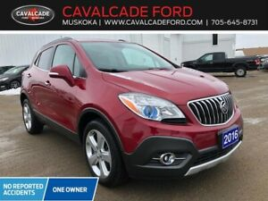 2016 Buick Encore AWD Leather htd steering wheel, no accidents!!