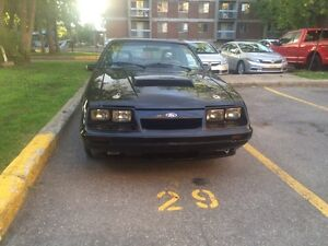 Fox body mustang 1986 LX RESTORED West Island Greater Montréal image 2