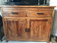 OFFERS Solid Rosewood Sideboard £650 new Industrial Modern