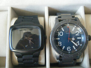 nixon watches/boxes