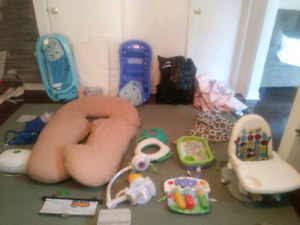 Huge baby items lot