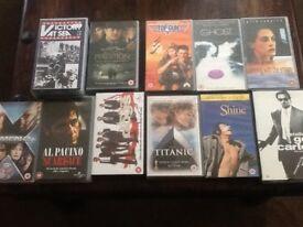 Selection of 12original VHS movies. £10