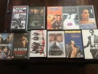 Selection of 12original VHS movies. £10