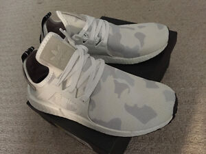 ADIDAS NMD XR1 WHITE CAMO--DS--SZ 9 US--AUTHENTIC London Ontario image 1