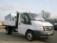 Ford Transit 2.4TDCi 115PS T350 'One Stop' Alloy Body Tipper One Owner