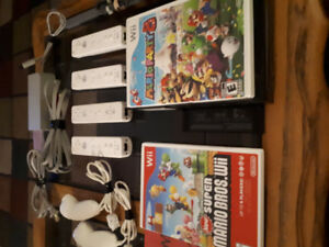 Nintendo Wii  / Game Cube .. Mario Party Mario Cart,  4 cont.
