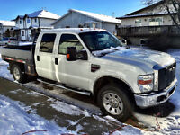 2008 Ford F-350 XLT 8ft Flatbed Crew Cab