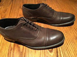 A brand new pair of Hush Puppies leather shoes