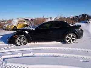 PARTING OUT / WRECKING: 2005 MAZDA RX-8