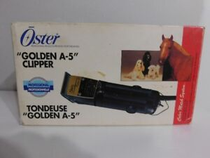 Dog, cat or any pet OSTER GOLDEN A5 CLIPPER