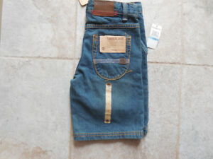 Boys size 5 TIMBERLAND SHORTS, brand new tags attached.