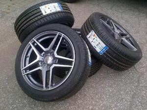 "$999 (Tax-In)- NEW 17""Mercedes/Audi/VW rims+ 225/45/R17 Starmax tires– Merc CLA/ B Class/ C Class/ Audi A3/ Jetta/ Golf"