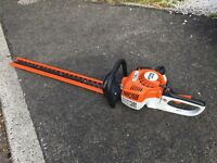 Sthil HS45 petrol hedge trimmers with 600mm blade