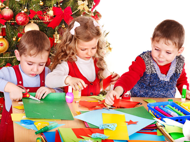 Christmas Crafts To Make With Kindergarteners : Crafts christmas decorations kids can make