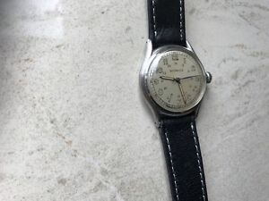 VERY NICE VINTAGE LONGINES WITTANUER MILITARY WRIST WATCH