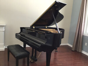 "Schafer & Sons 5""8 Grand Piano"