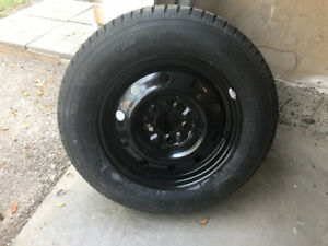 205/65R15 Snow Tires - Brand New with Black Steel Rims