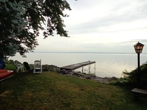Furnished/Unfurnished log home on Lake Simcoe