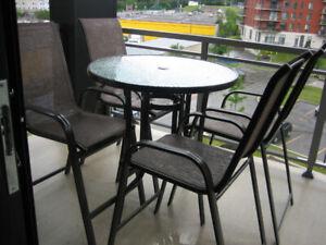 Ensemble bistro - table et chaises | Mobilier pour terrasse et ...