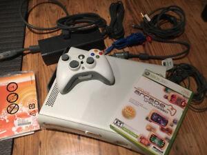 White xbox 360 Arcade bundle