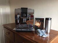 Jura Impressa Z9 Chrome Bean to Cup Coffee Macine