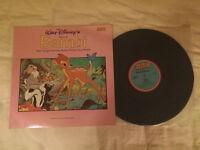 Walt Disneys Story of Bambi on vinyl
