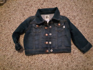 Baby girl jean jacket