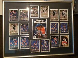 Gretzky Retires 1999 Framed Team Cards Picture
