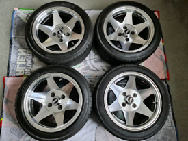 Mk1 golf Starmag alloy wheels 4x100
