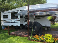 Fith Wheel cruiser provincial camping panoramique
