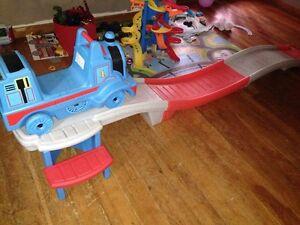 Thomas the train ramp