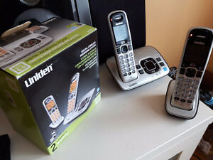 Uniden wireless phone and answering machine