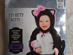 Cat costume. Baby girl size 18-24 months