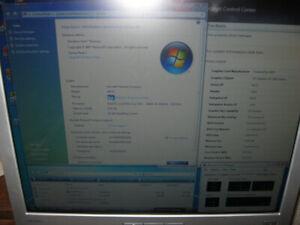 "3Ghz dual core 4GB Radeon 3450 HDMI 19"" LCD HP computer"