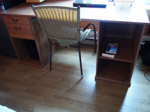 Ikea desk wood kijiji in greater montréal. buy sell & save with